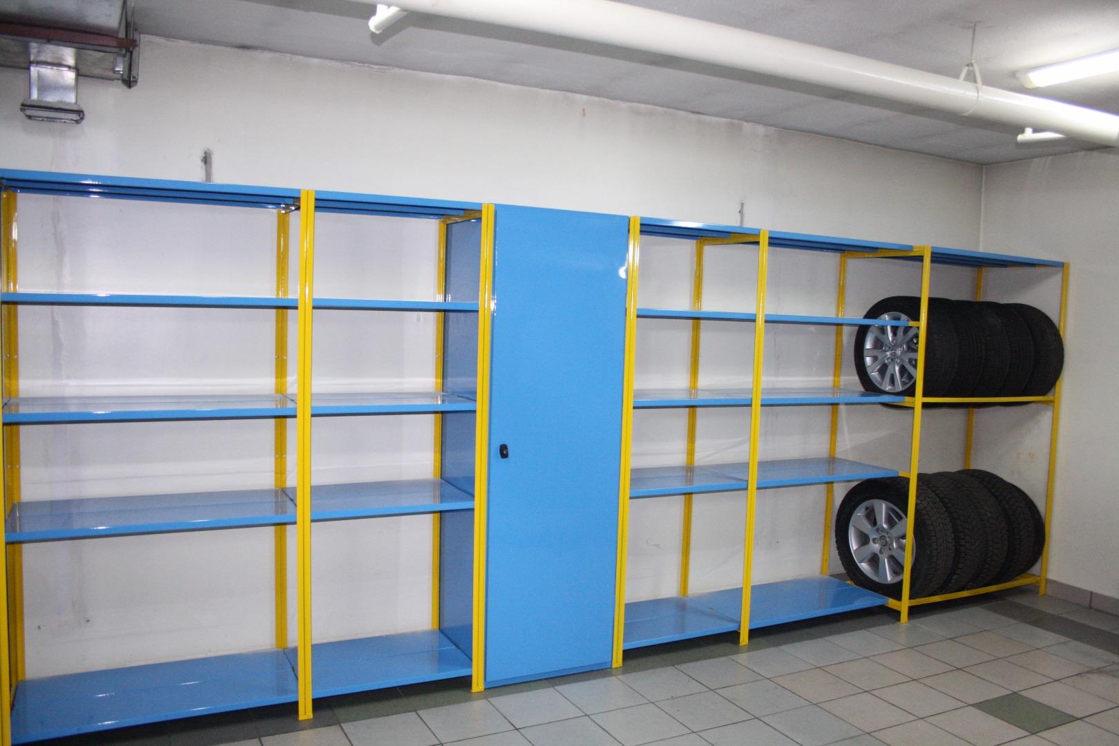 Стеллажи сборные металлические в гараж железные ворота для гаража цена самара
