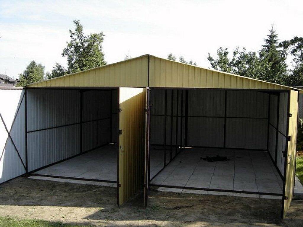 Как самому сделать железный гараж