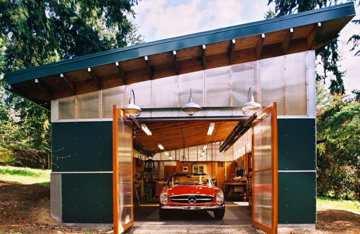 Как правильно выполнить гараж на автодроме