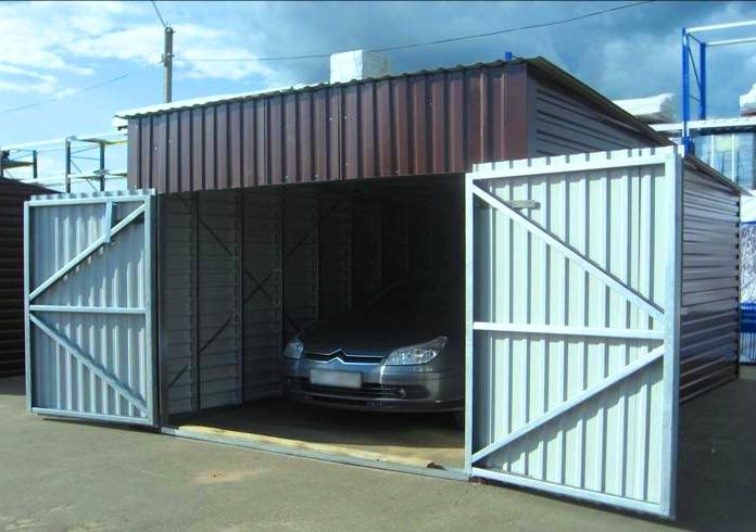 Металлический гараж здания или сооружения ворота для гаража металлические томск