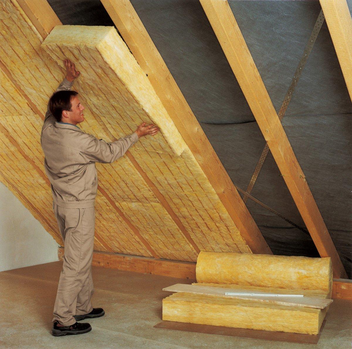 Утепление мансарды изнутри если крыша уже покрыта своими руками