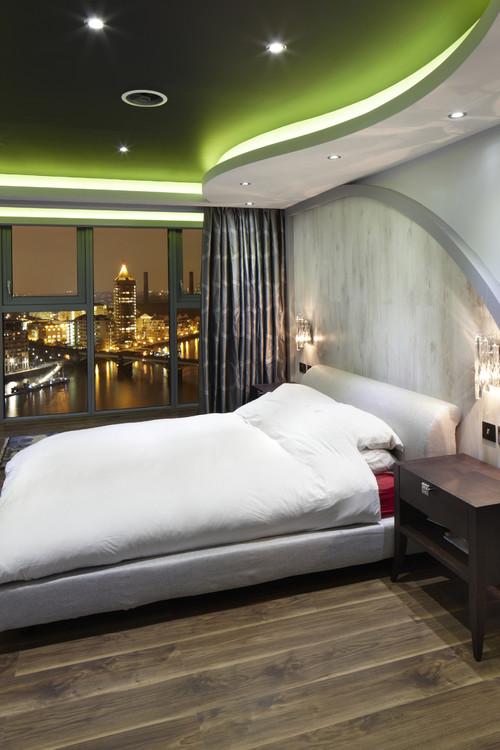 Натяжной потолок с подсветкой разновидности конструкций