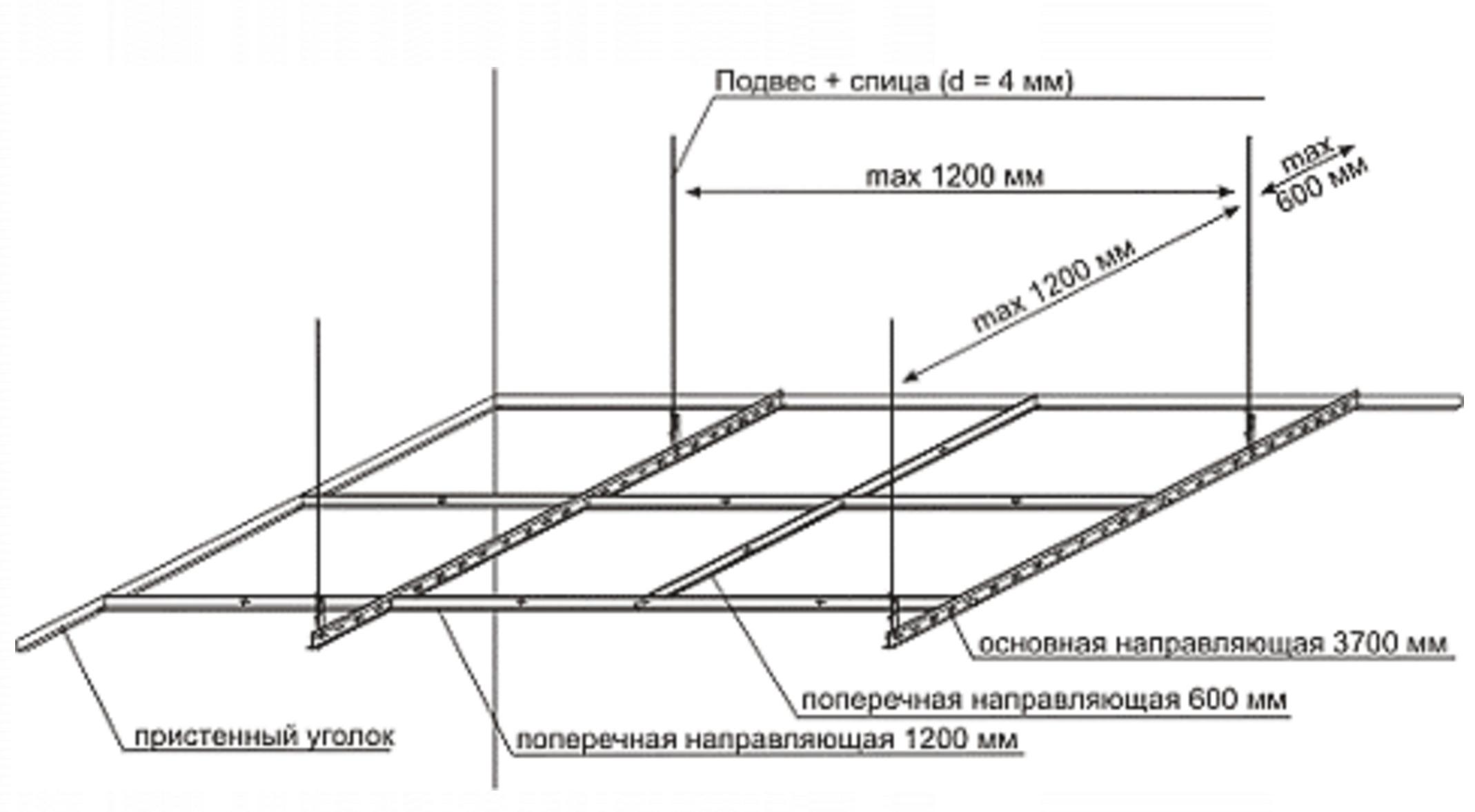 Реечный потолок 49