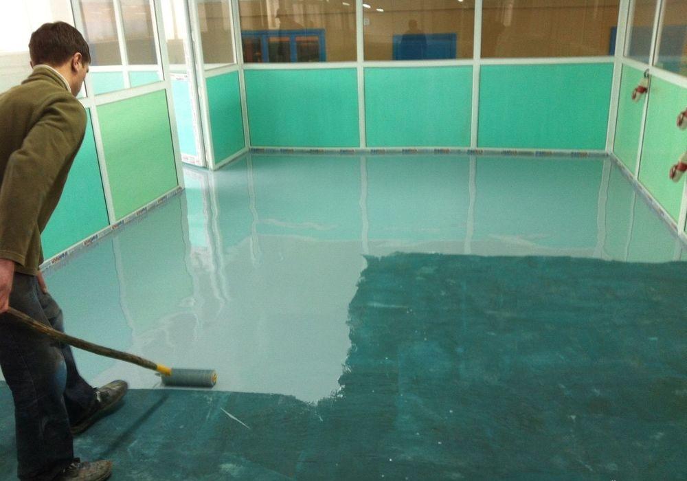 Краска полиуритановая для бетона гидроизоляция стен душевой кабины