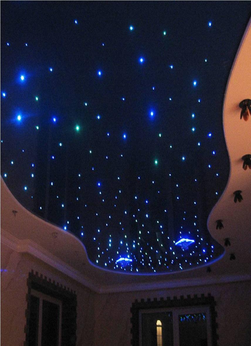 Потолок в виде звездного неба своими руками