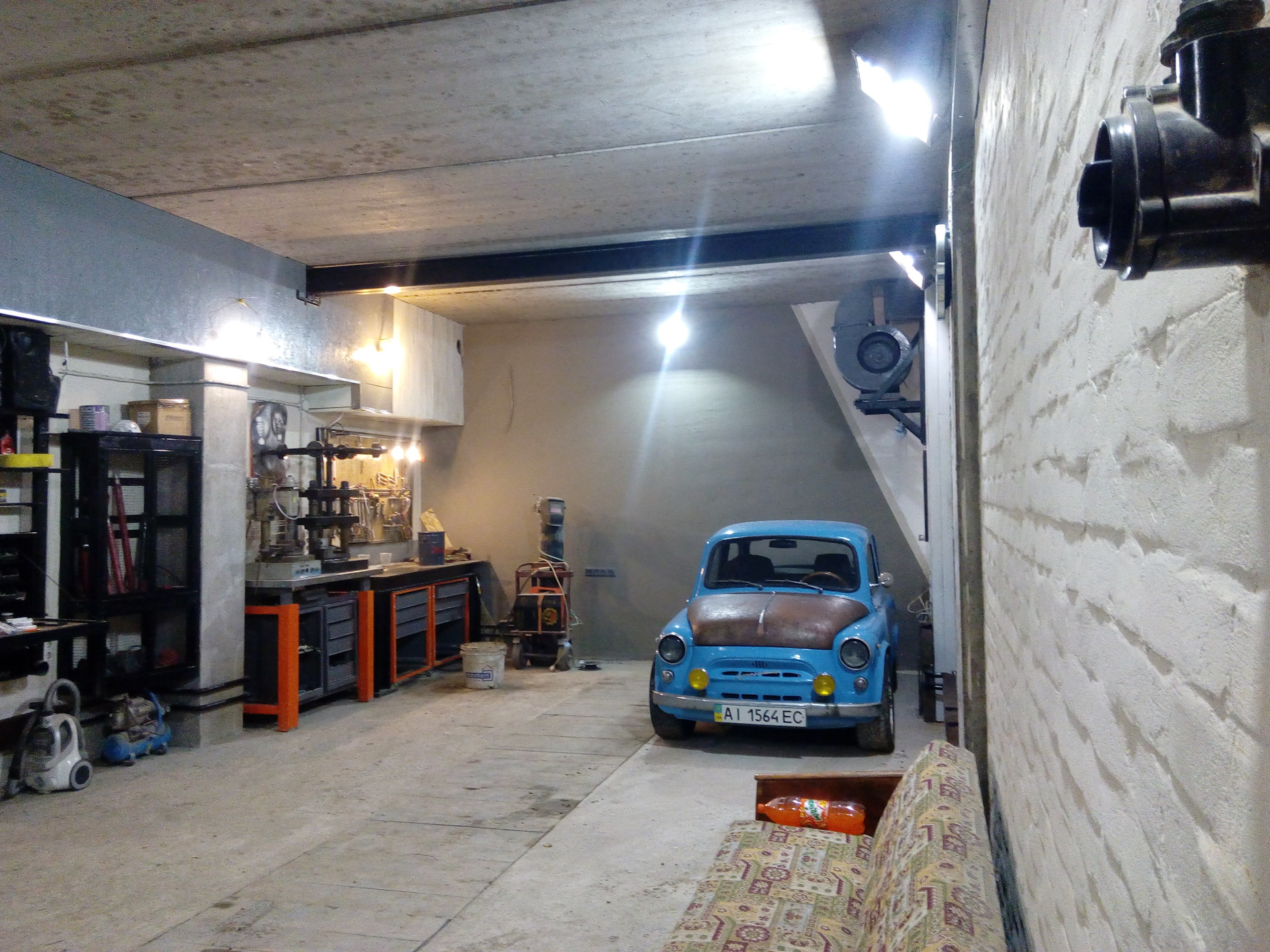 Шиномонтаж для гаража своими руками