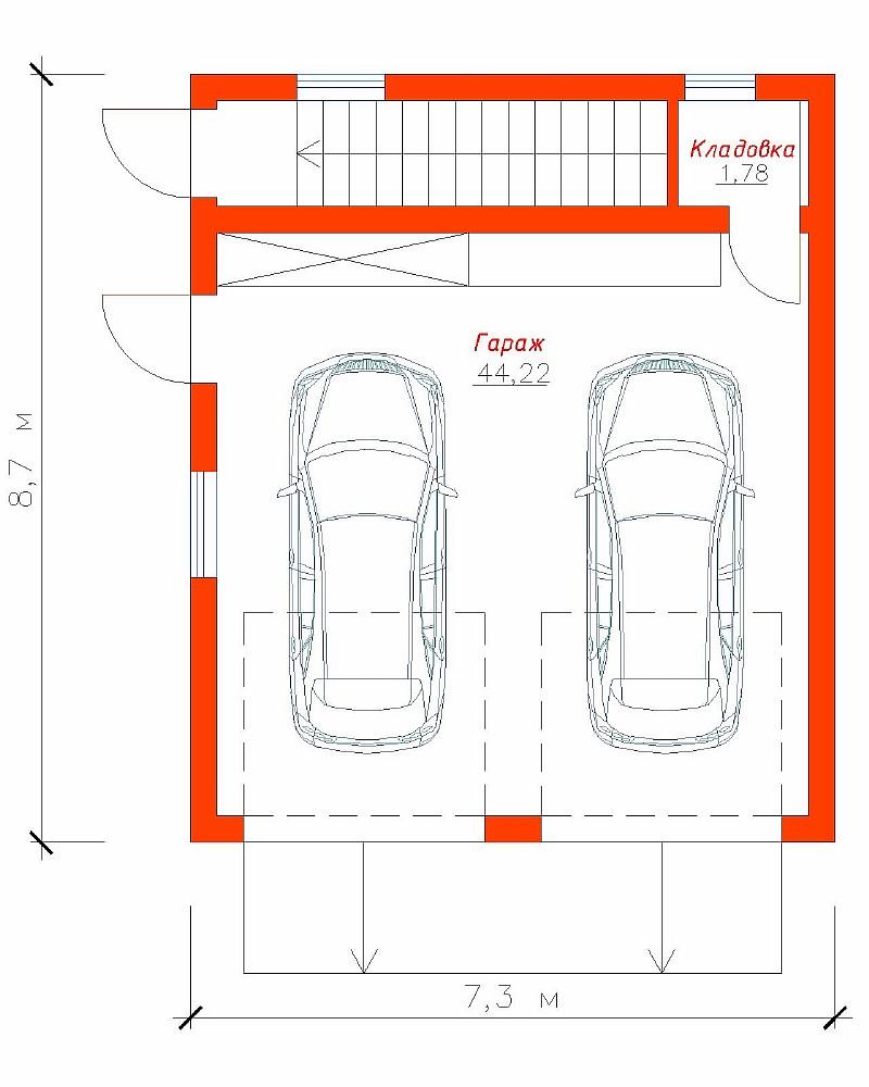 Самодельный гараж