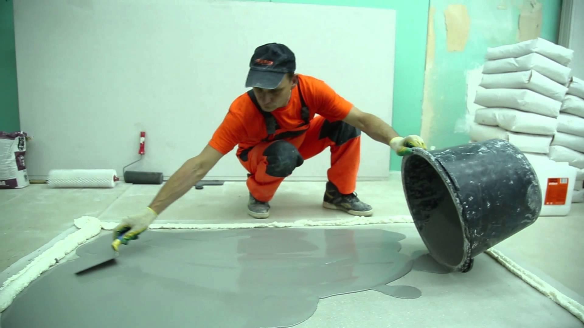 Самовыравнивающий бетон теплоизоляционный бетон