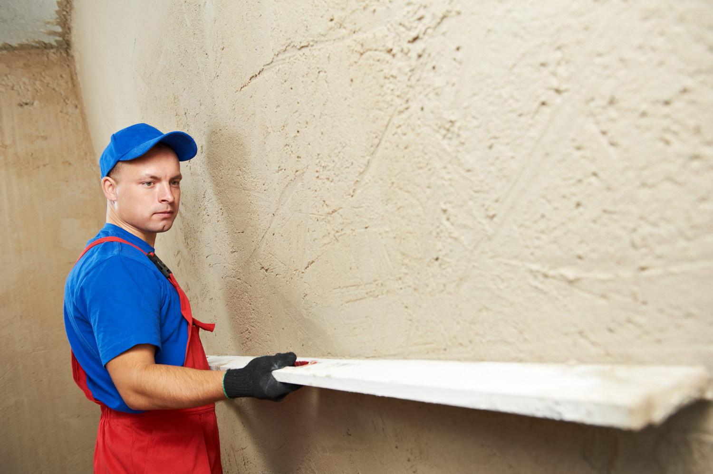 Как сделать ровную стену из штукатурки 491