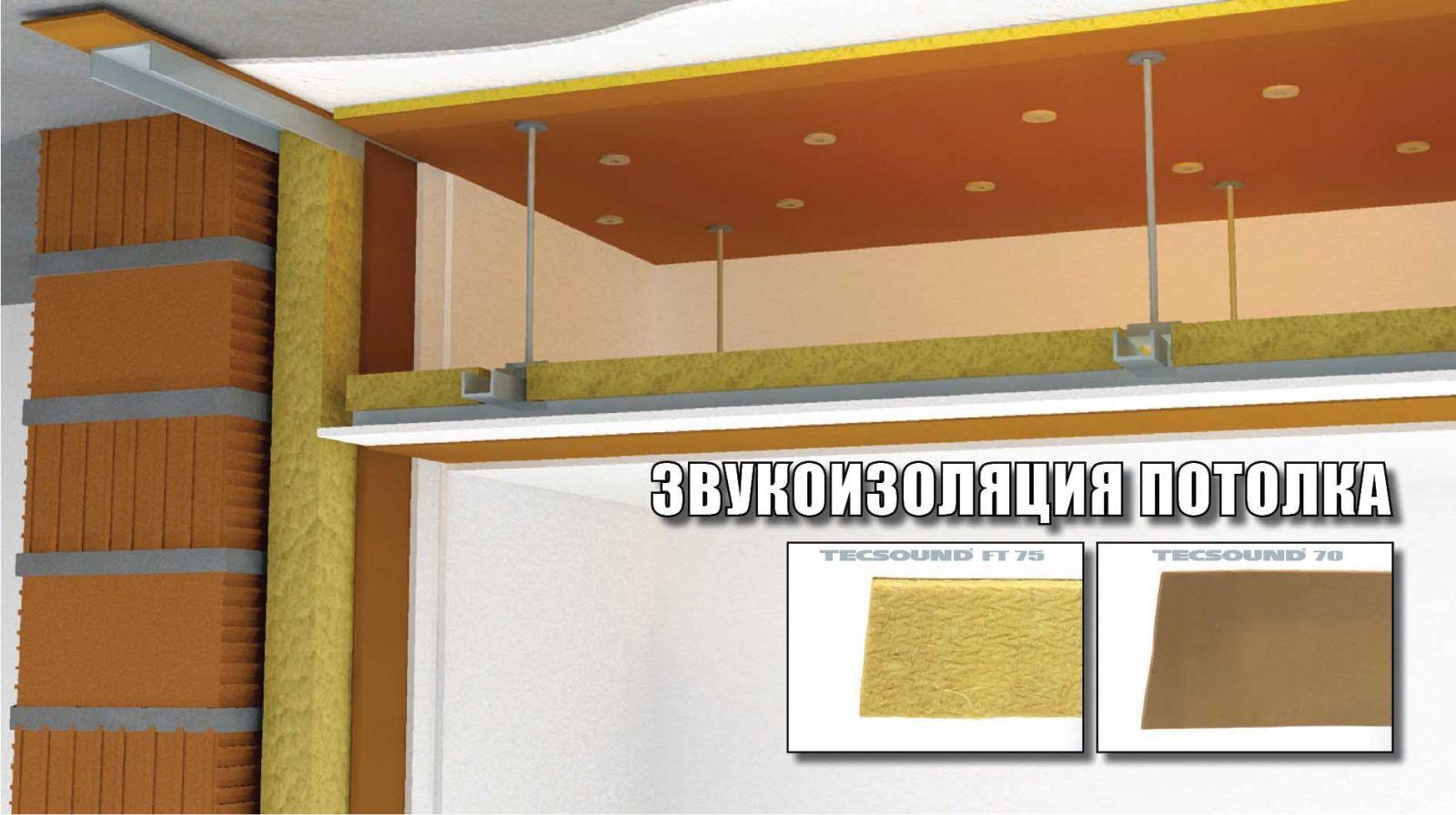 Шумоизоляции потолка в квартире своими руками: методы и 67