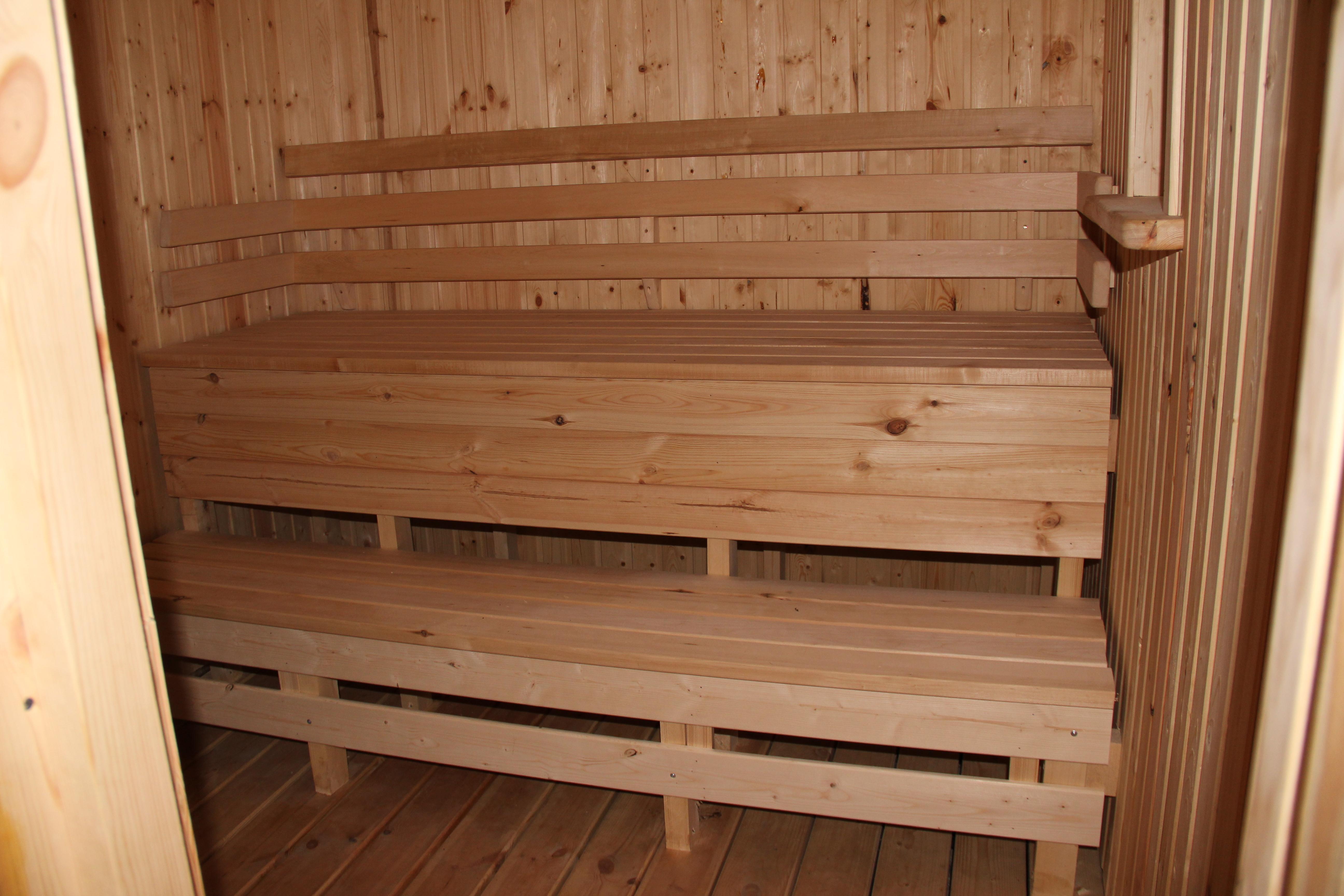 Как сделать скамейки в баню фото
