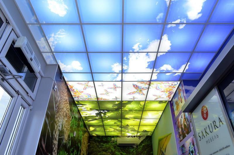 приобретете фотопечать для потолка светопрозрачная стучит, передний привод