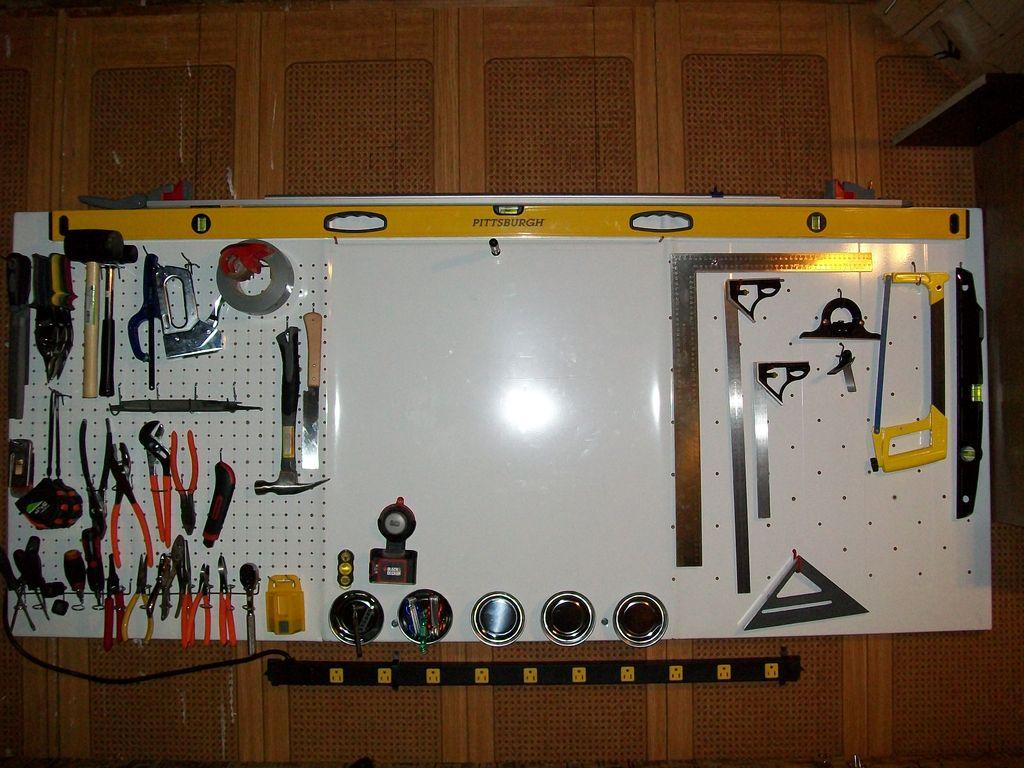 Как сделать полку для инструментов в гараже своими руками 92