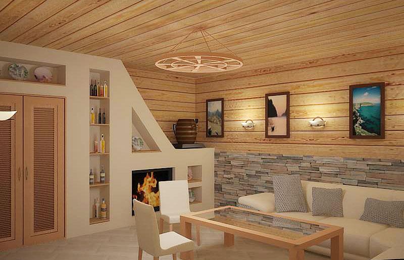 Дизайн и интерьер бани своими руками: фото рекомендации 22