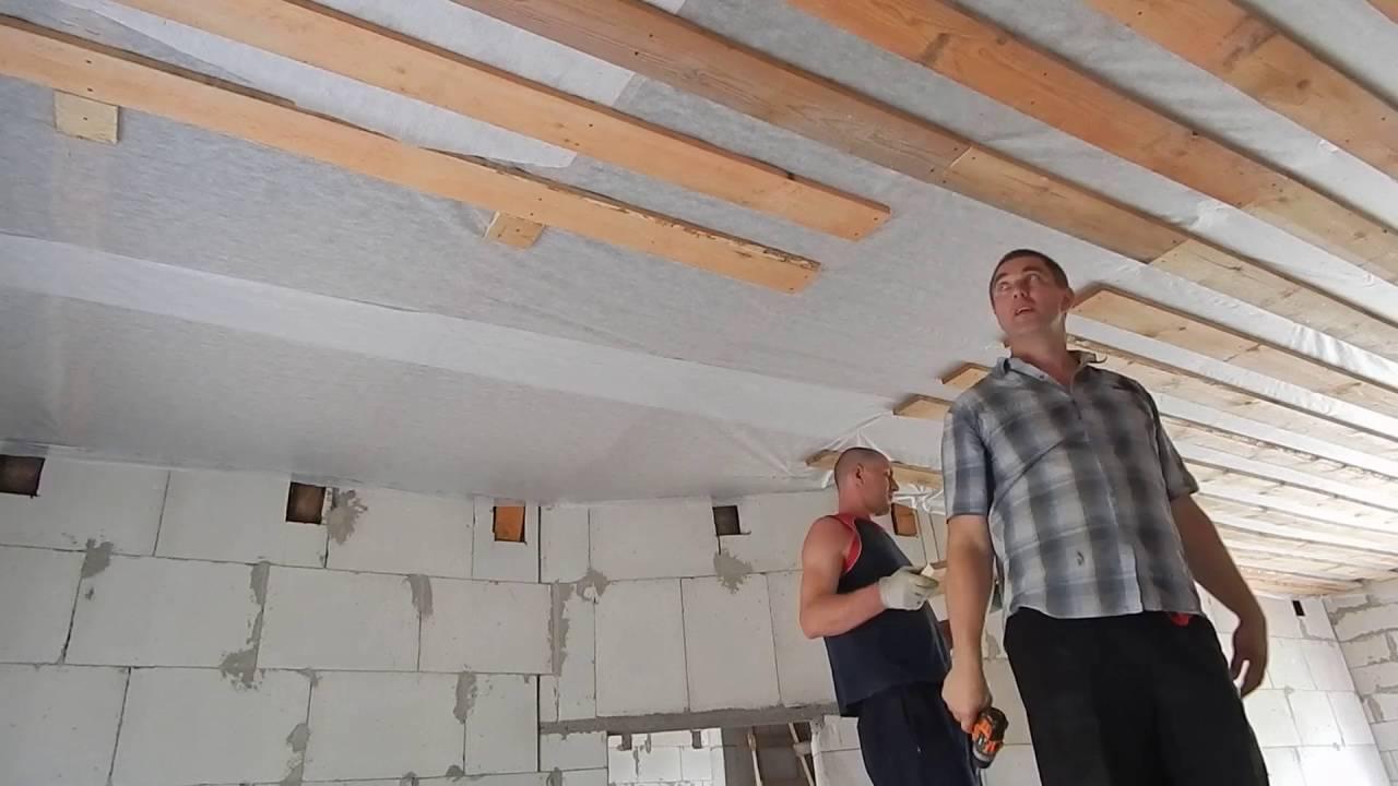 Подшиваем потолок своими руками фото 7