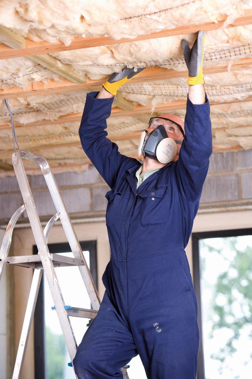 Как утеплять потолок своими руками минватой фото 784