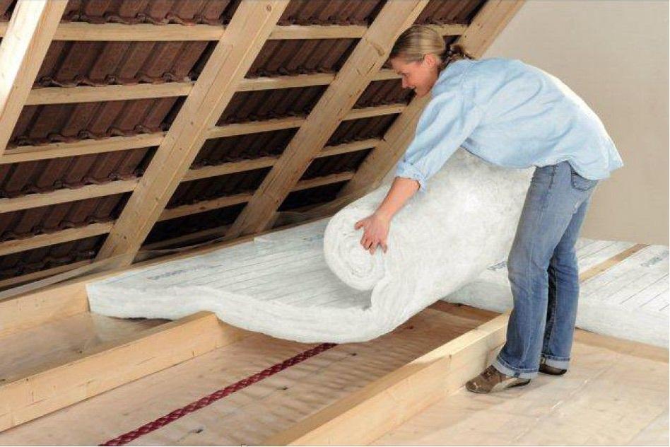Как своими руками утеплить крышу дома 9