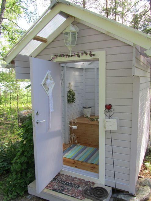 Схемы и чертежи дачных туалетов