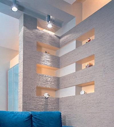 Декоративные перегородки из гипсокартона в интерьере (11 фото)