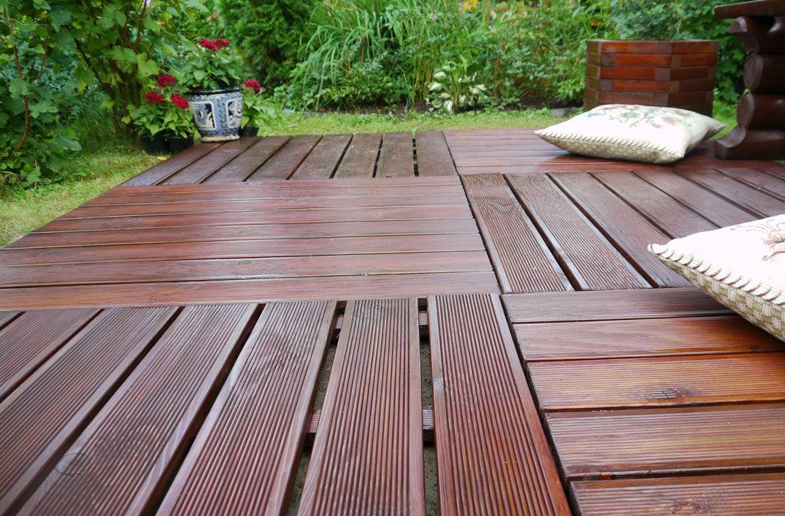 Деревянный пол для террасы своими руками фото 50