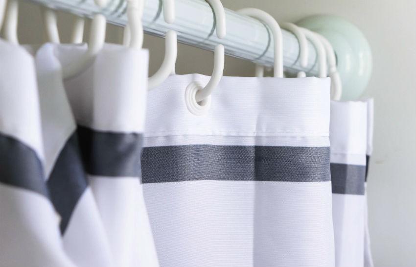 Как отмыть шторку в ванной? Как отстирать занавеску от желтого налета, можно ли постирать штору в стиральной машине