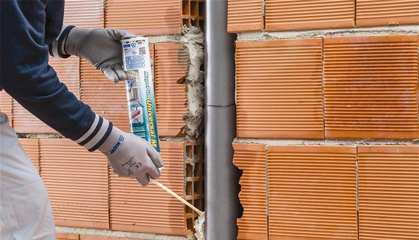 Для заделки бетонных швов