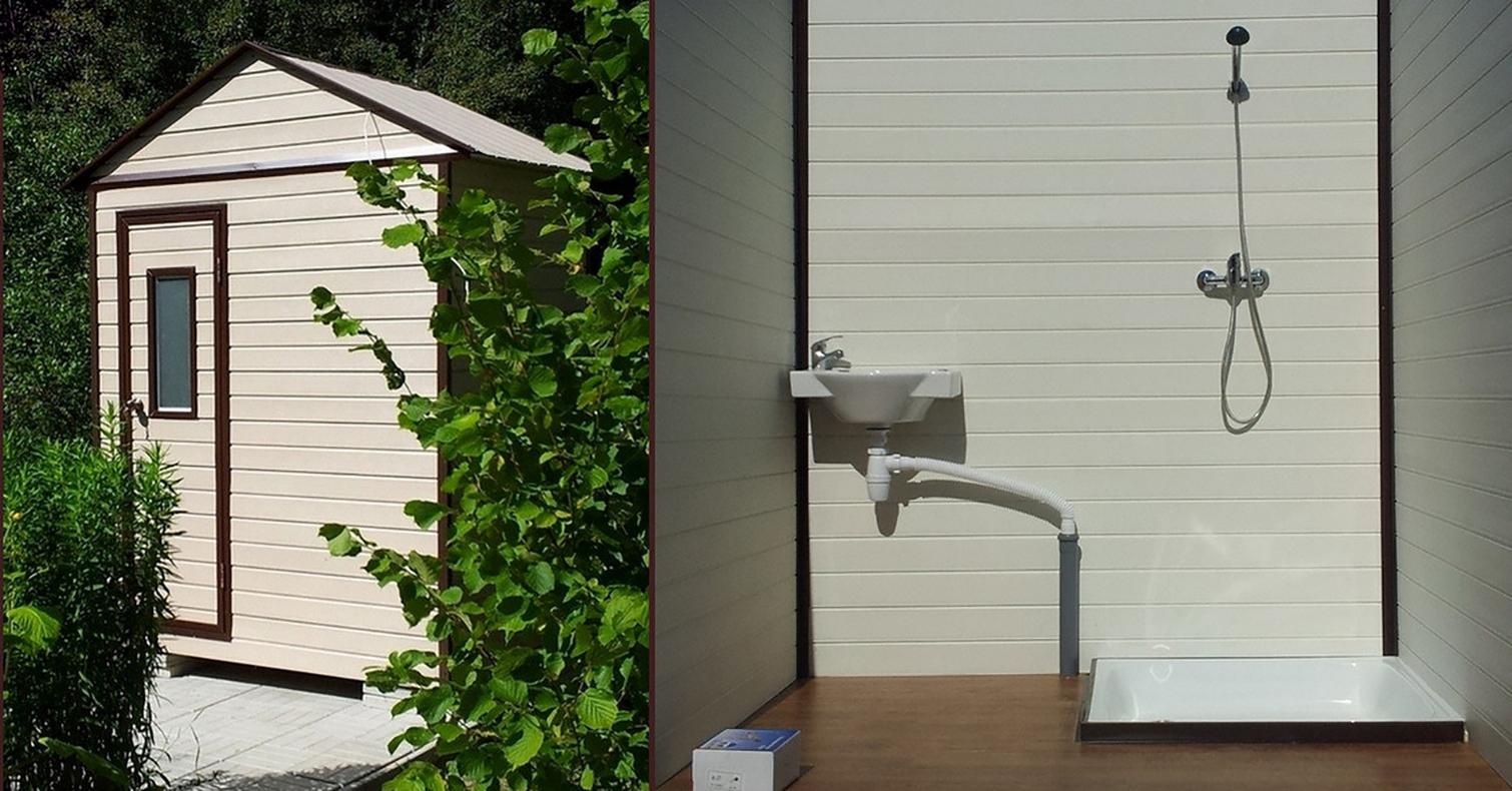Как построить летний душ из кирпича своими руками фото фото 86