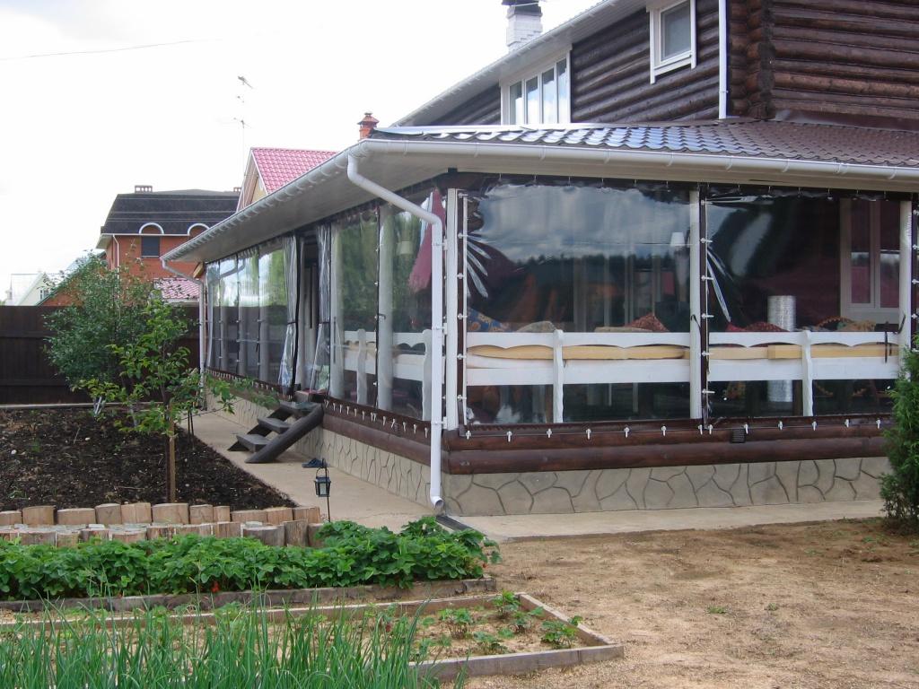 Как сделать плоскую крышу из дерева