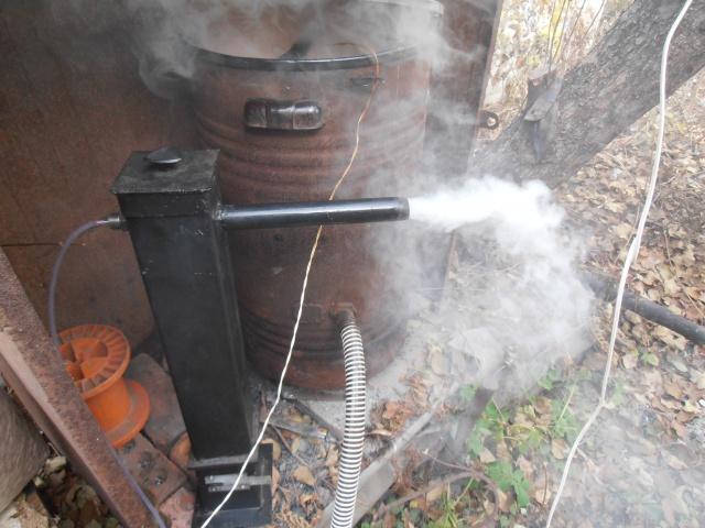 Коптильня холодного копчения с вентилятором своими руками 39