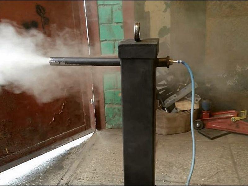 Пассивный дымогенератор для холодного копчения 61