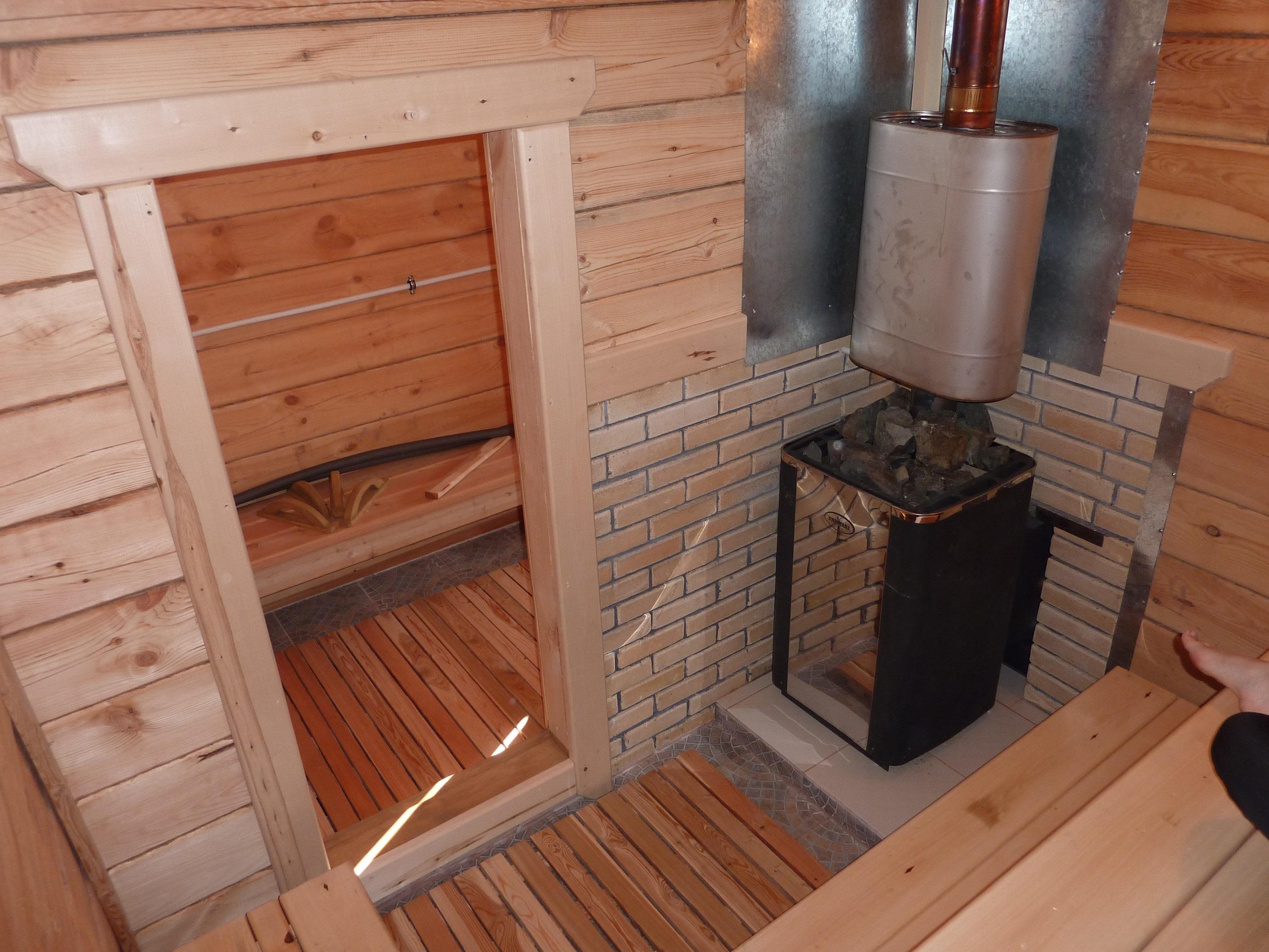 Печь для бани своими руками: металлическая и кирпичная 25