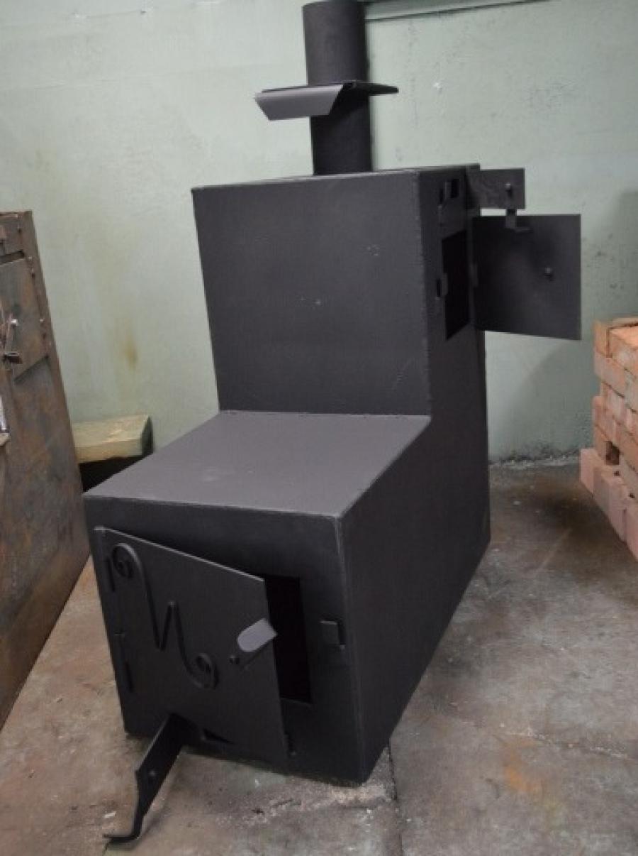 Печь для бани на дровах своими руками из металла чертежи и фото 708