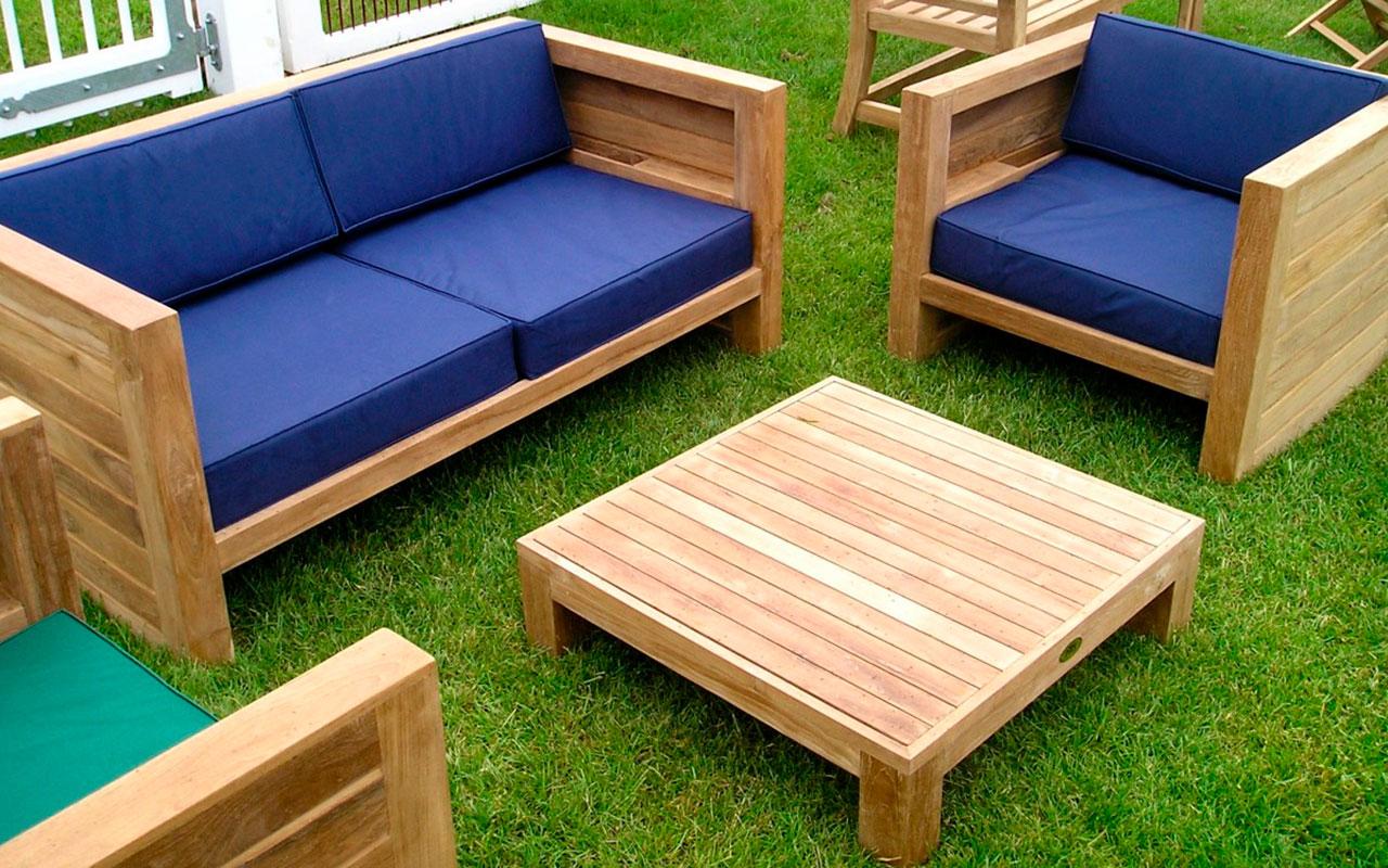 Садовая мебель своими руками — мебель для сада