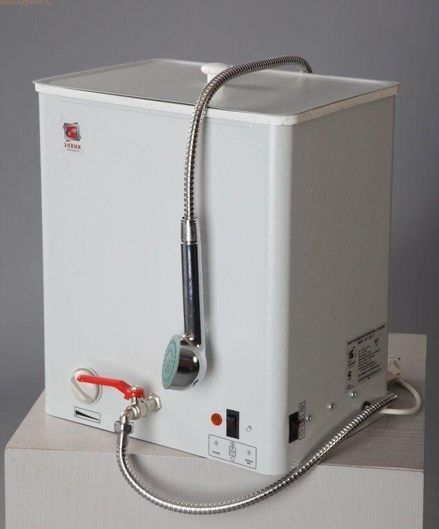 Накопительный водонагреватель для дачного душа