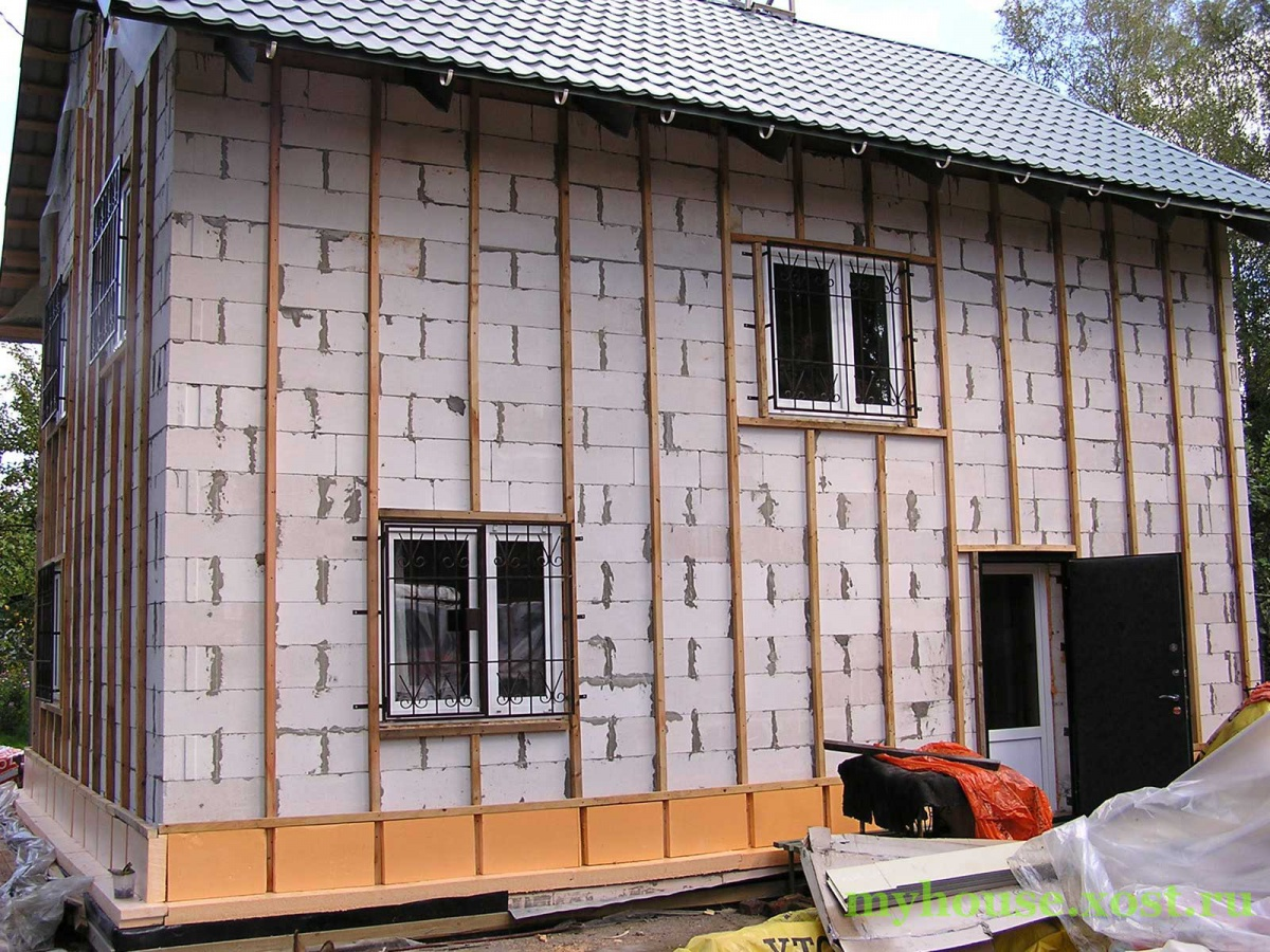 Как утеплить фасад дома пенопластом своими руками технология 41