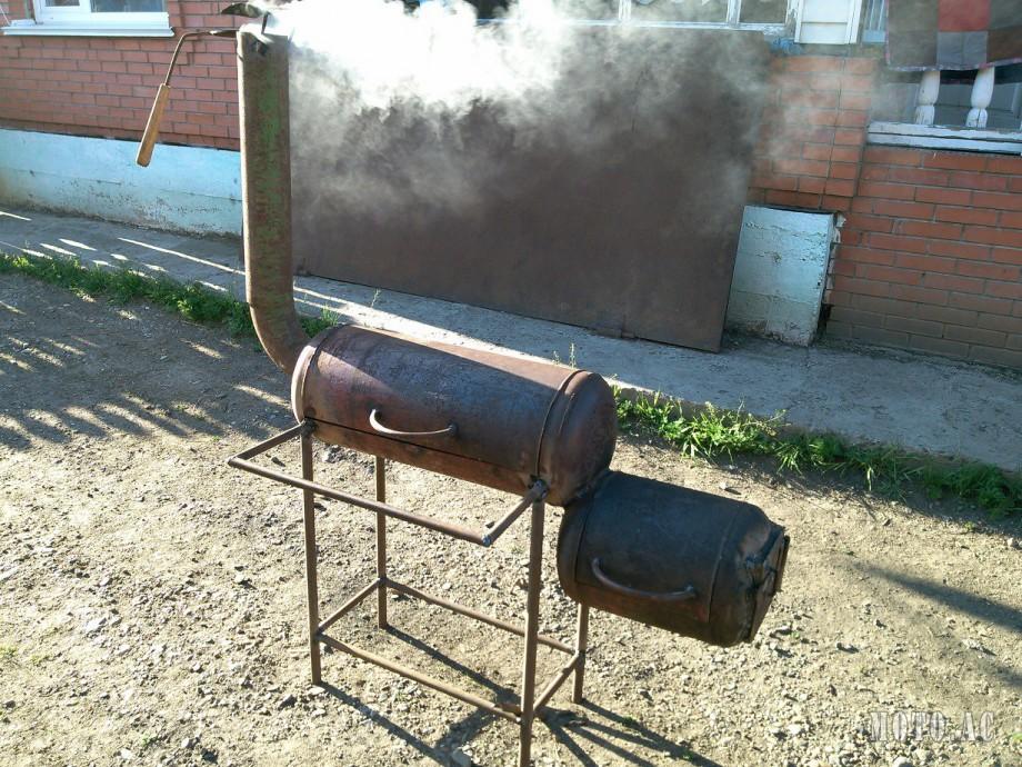 Как сделать мангал из газового баллона своими руками 17