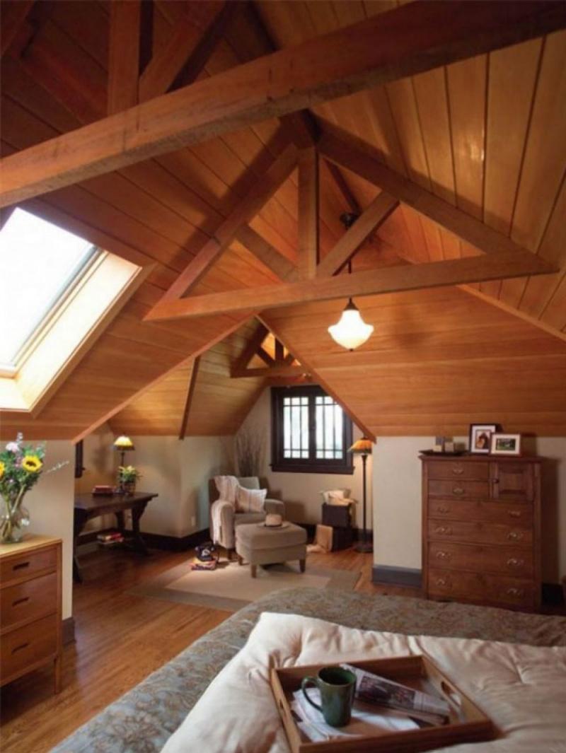 Что такое мансарда: фото, конструктивные особенности мансардной крыши, стен и потолка