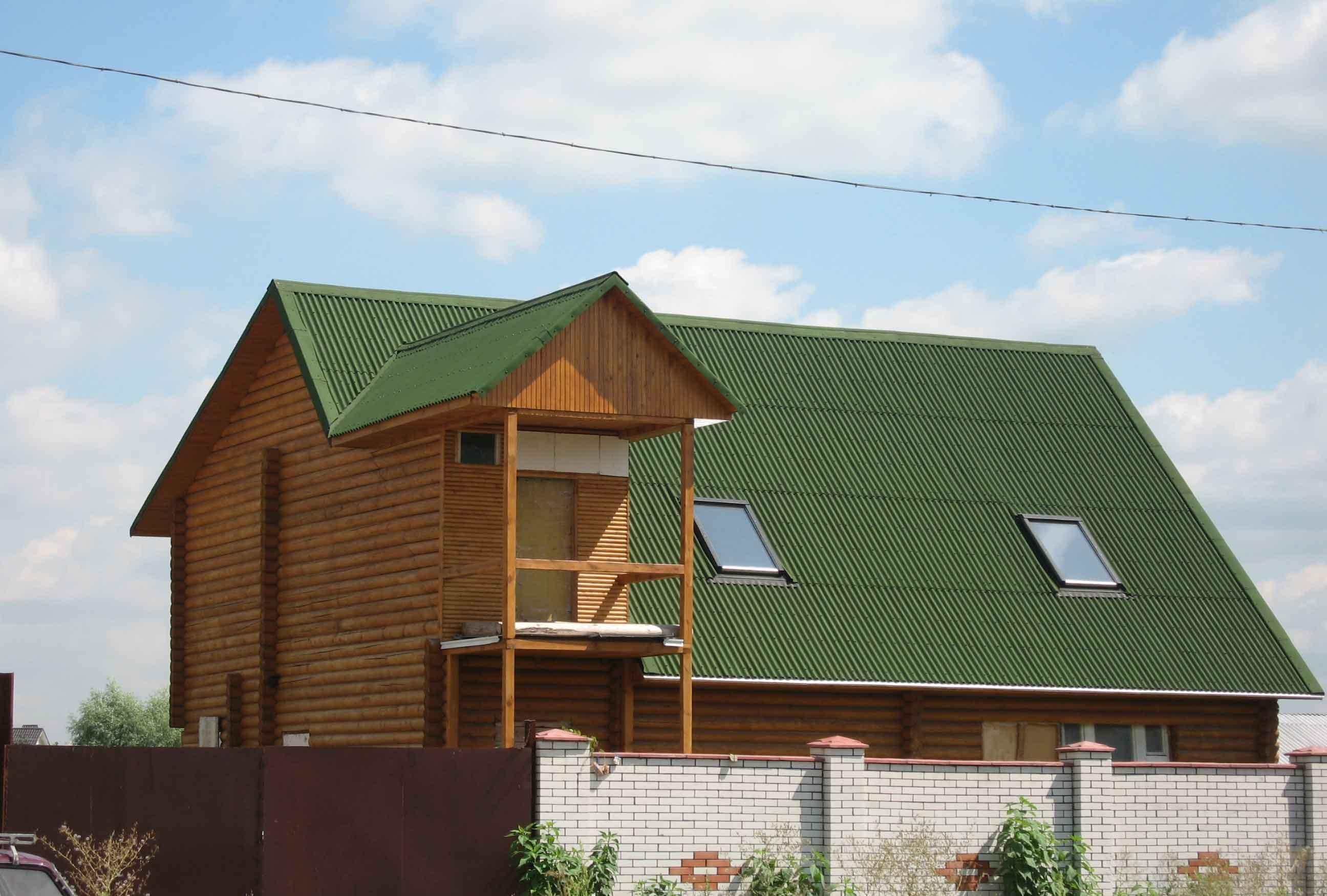 Крыша дома своими руками из ондулина фото 346