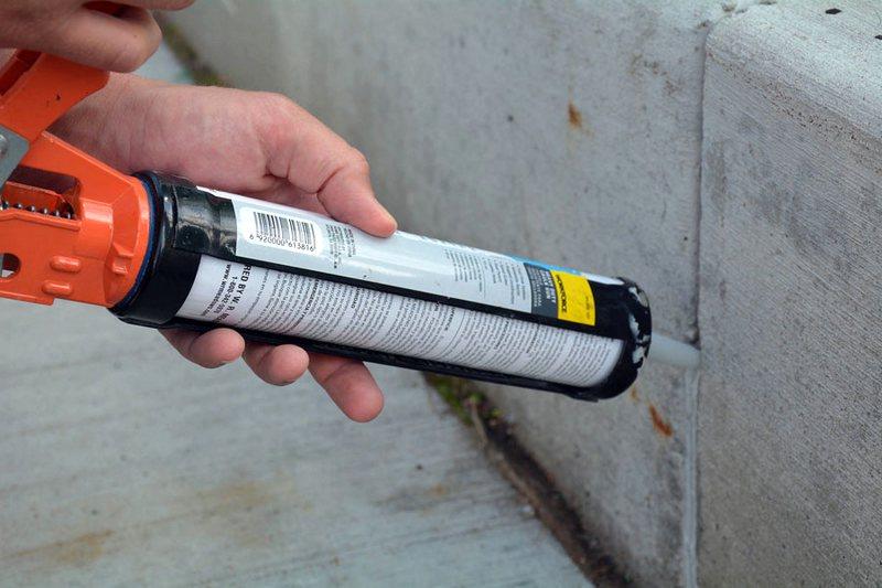 Купить герметик для наружных работ морозостойкий для бетона штукатурка под бетон купить в москве