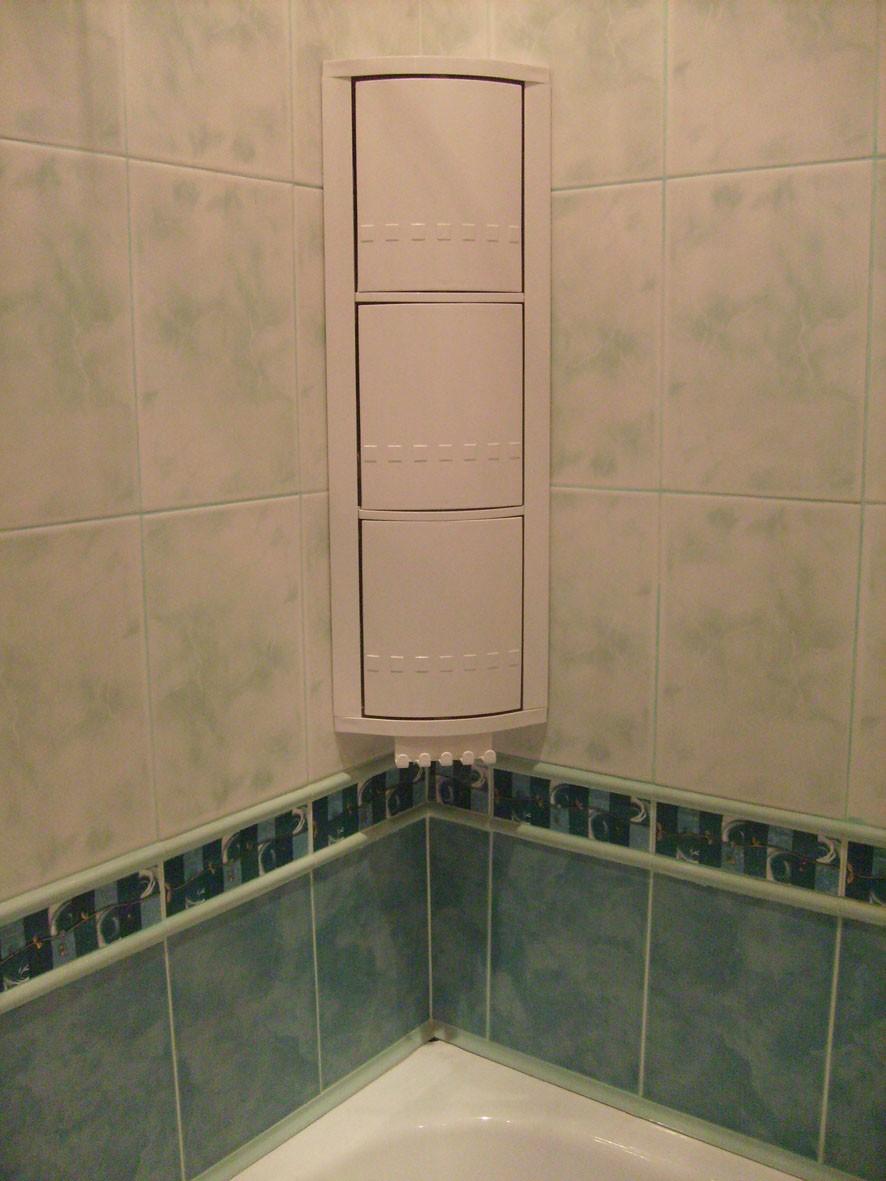 Угловые шкафчики в ванную комнату своими руками 82