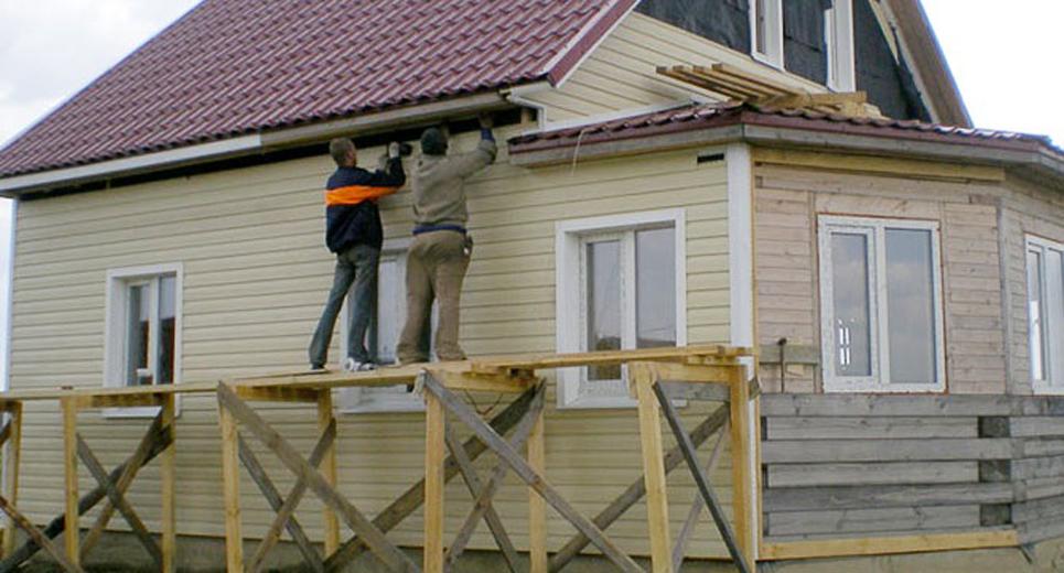 Монтаж сайдинг для дома своими руками