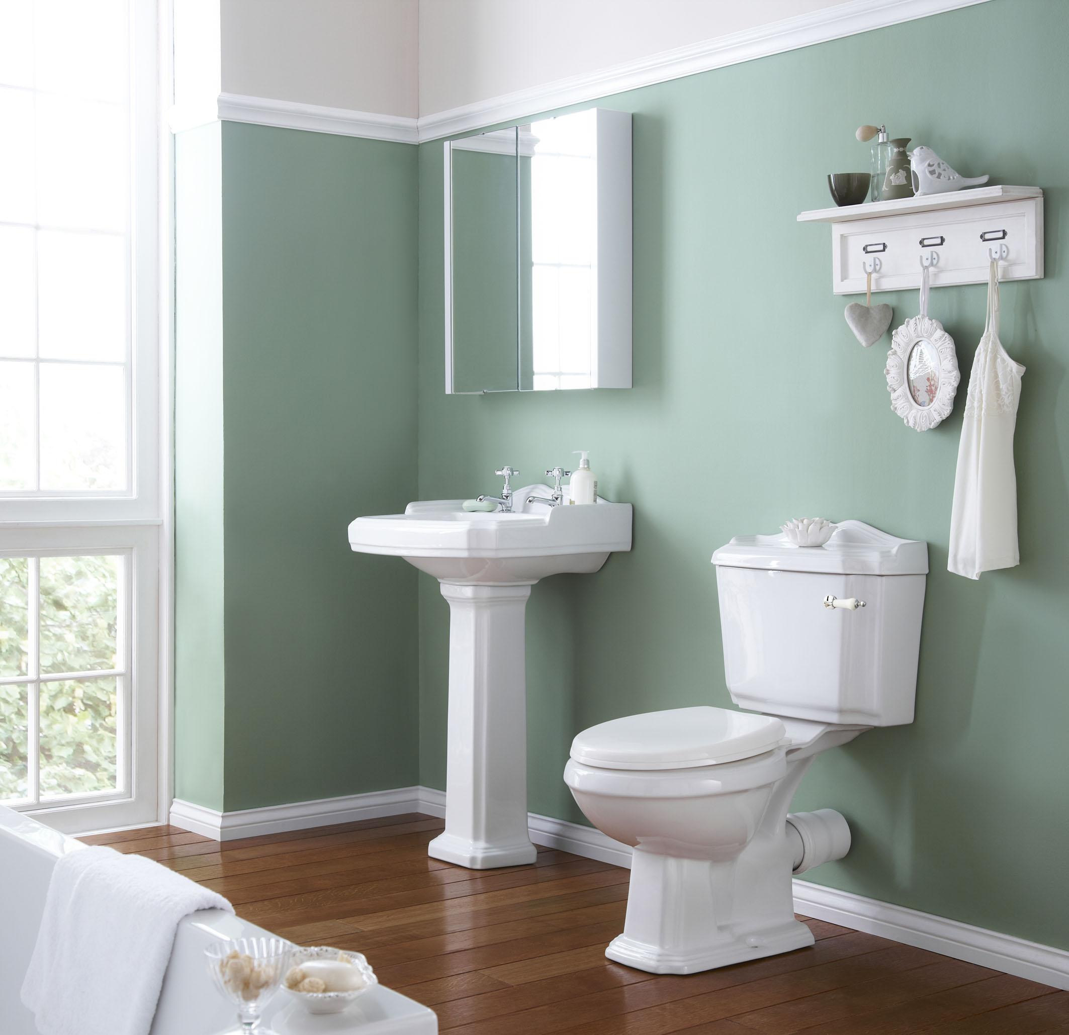 Покраска ванной комнаты своими руками фото 30