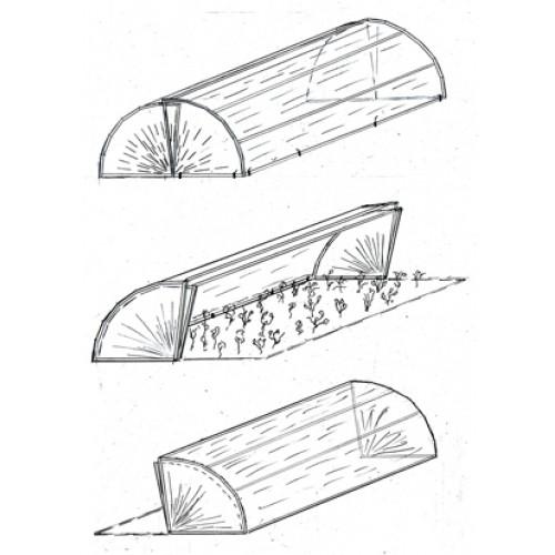 Теплица хлебница своими руками чертежи фото 842
