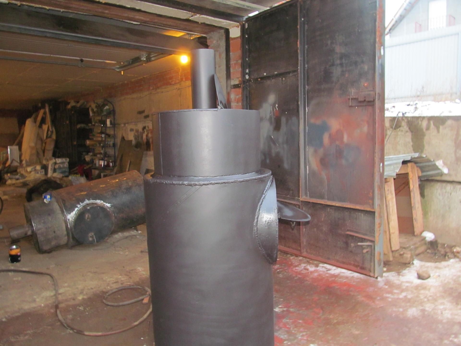 Банные печи из трубы своими руками схема и размеры фото 308