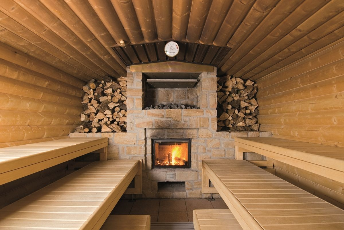 Печь для парилки на дровах