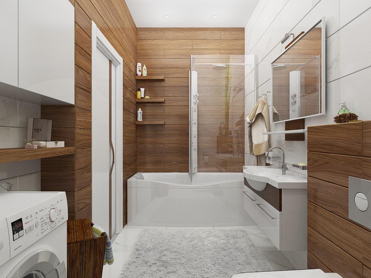 Ванная комната из дерева своими руками фото 275