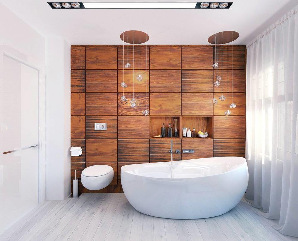 Ванная под дерево дизайн и отделка ванной комнаты деревом