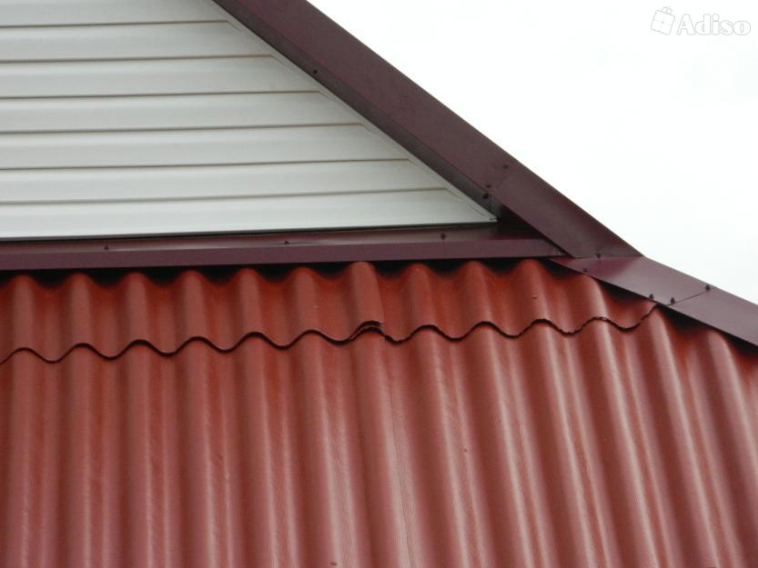 Покраска фасадов домов из кирпича