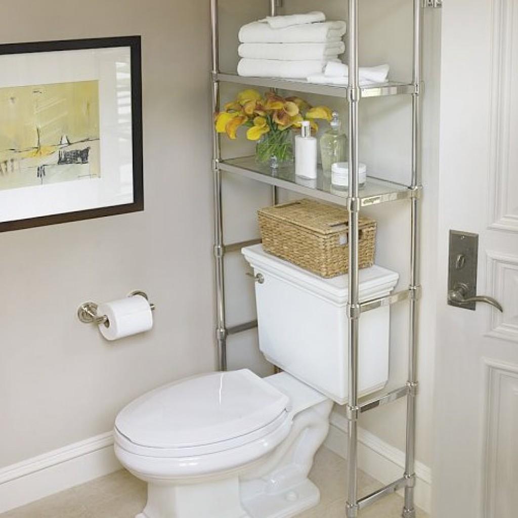 Как сделать полочки в туалете фото 49
