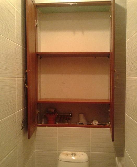Как своими руками сделать шкафчик в туалете 89